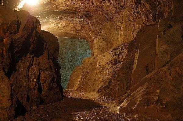 Osówka underground city in Głuszyca