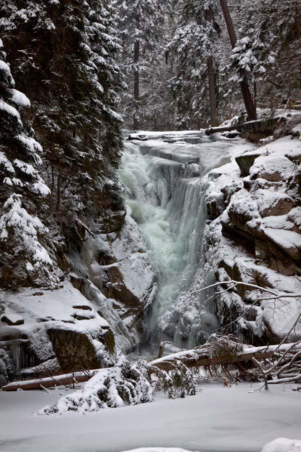 Szklarka Waterfall