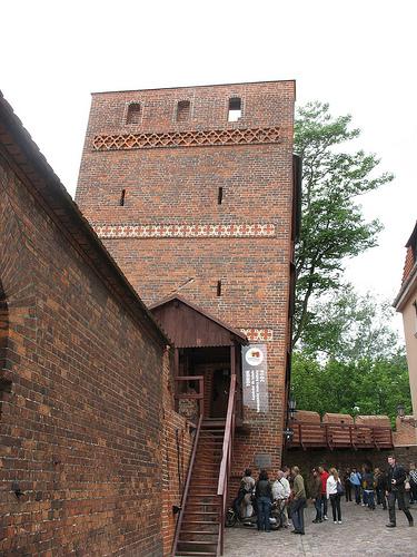 Leaning Tower in Toruń