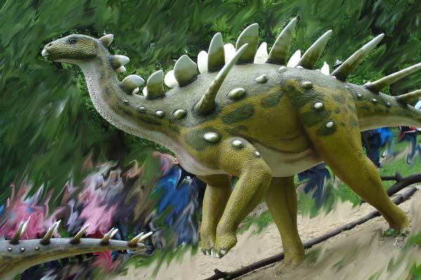 Jurassic-Botanical Dinopark in Kołacinek