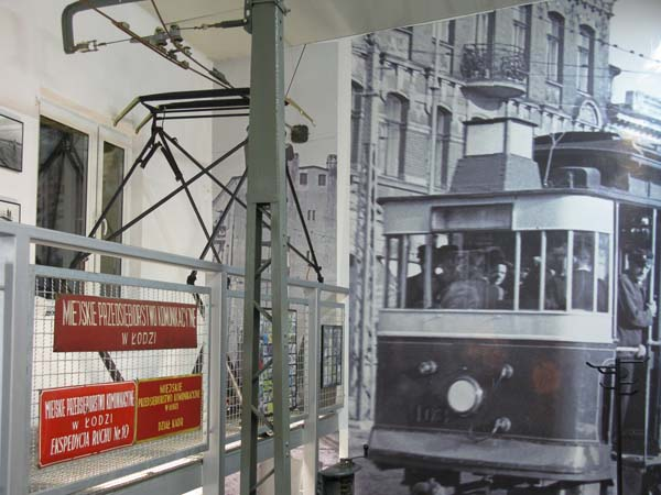 Public Transportation Museum in Lodz