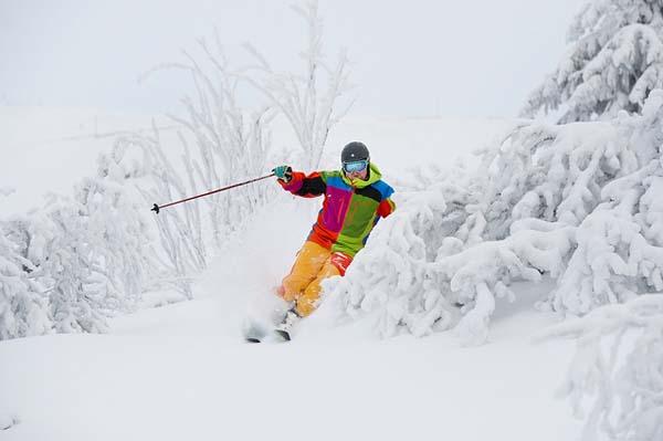 Stok narciarski w Rąblowie