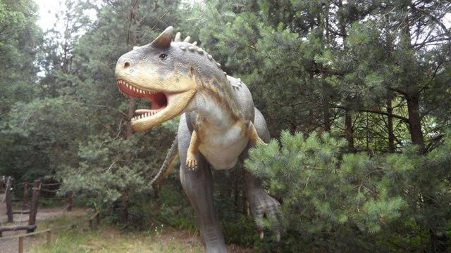 Dino Park in Nowiny Wielkie