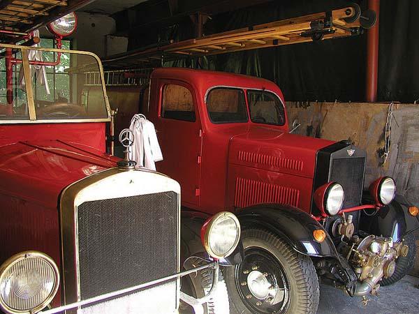 Firefighting Museum in Alwernia
