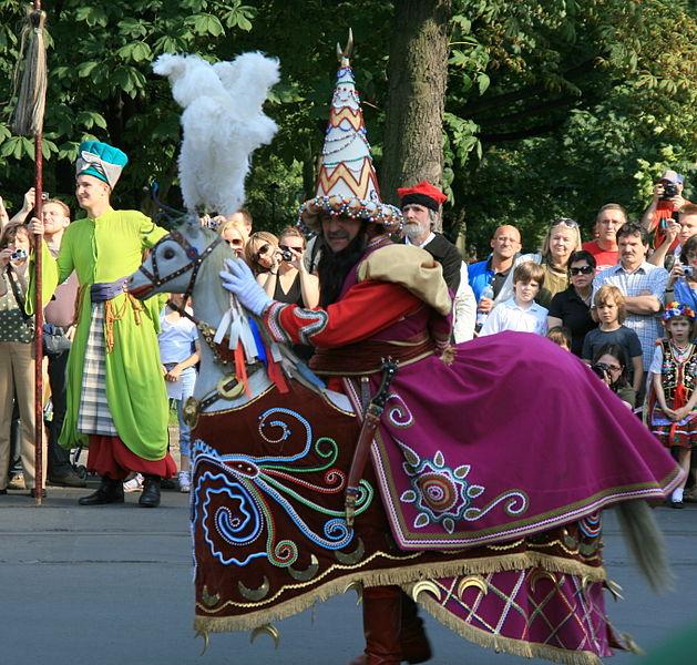 Lajkonik's procession