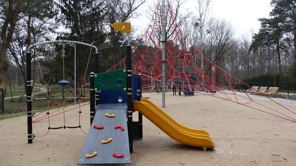 Playgrounds on Matejki Street