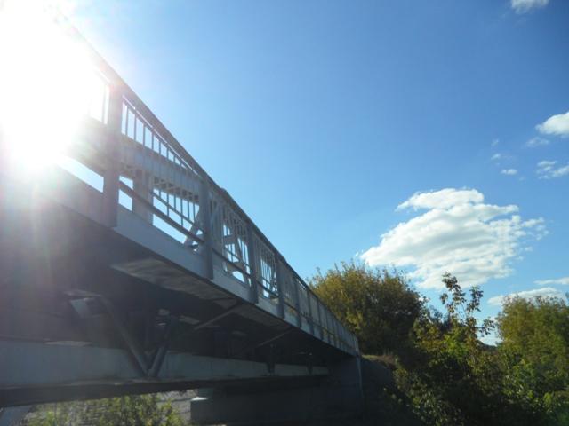 Bridge on the river Słudwia