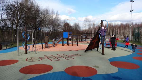 Ledóchowskiej Playgrounds