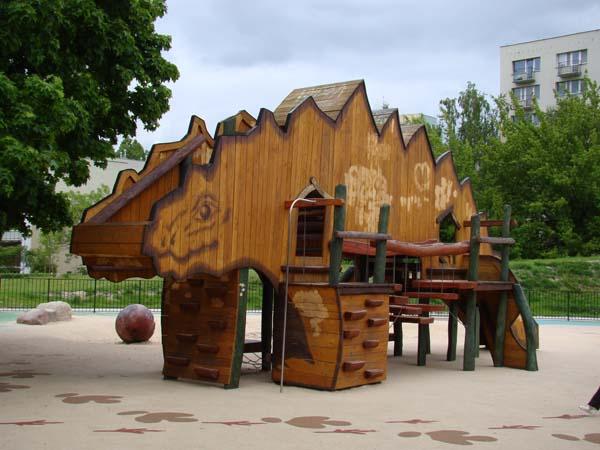 Olkówek Playground in Wiolinowa Street