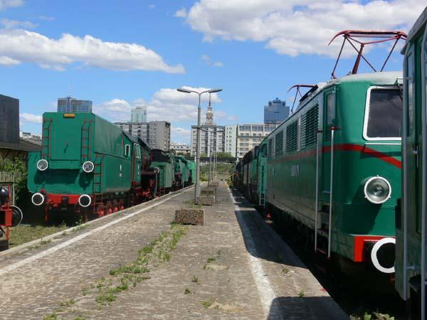 Railway Museum in Warsaw