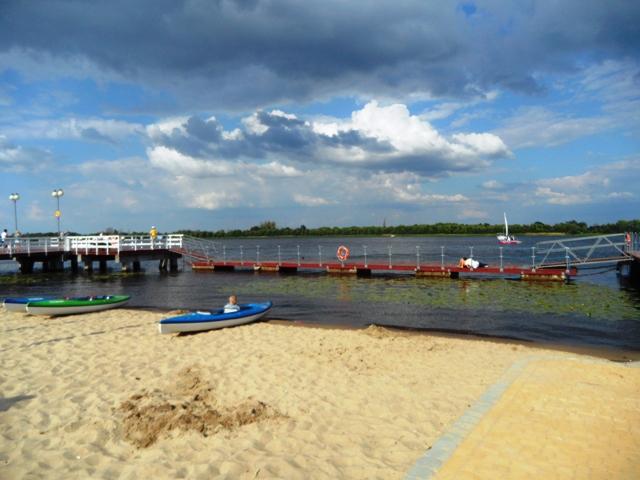 Municipal Beach in Serock