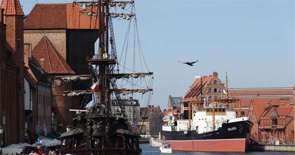 Galeon Cruises in Gdansk