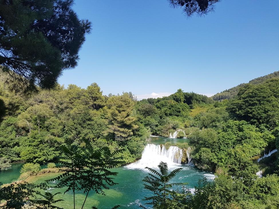 Chorwackie parki narodowe - Park narodowy Krka