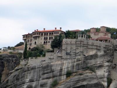 Meteory - klasztory na skałach