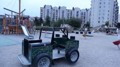 Plac zabaw w Parku nad Balatonem