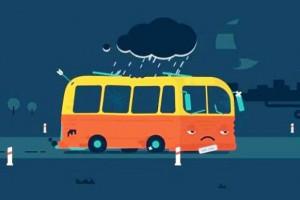 Kto widział smutny autobus ?