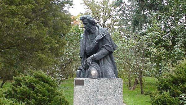 Park i dom urodzenia Fryderyka Chopina w Żelazowej Woli