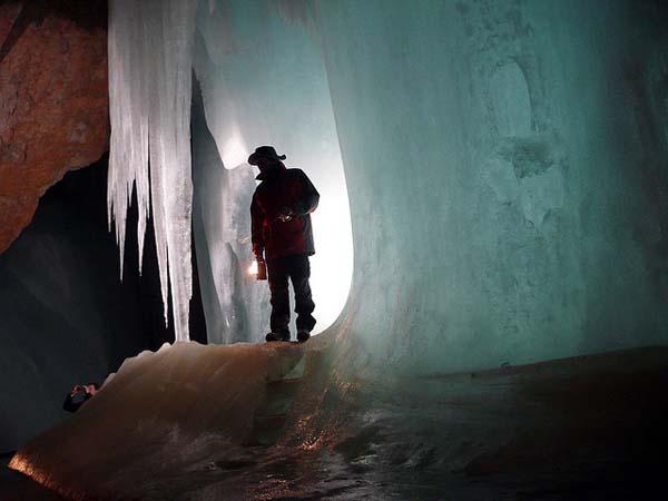 Jaskinie Lodowe Eisriesenwelt