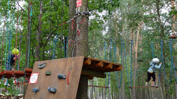 Park linowy Kamrat