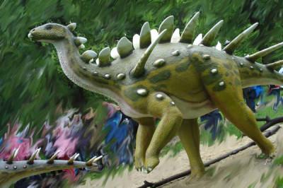 Park Jurajsko-Botaniczny Dinopark w Kołacinku