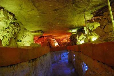"""Muzeum archeologiczne i Rezerwat """"Krzemionki"""""""