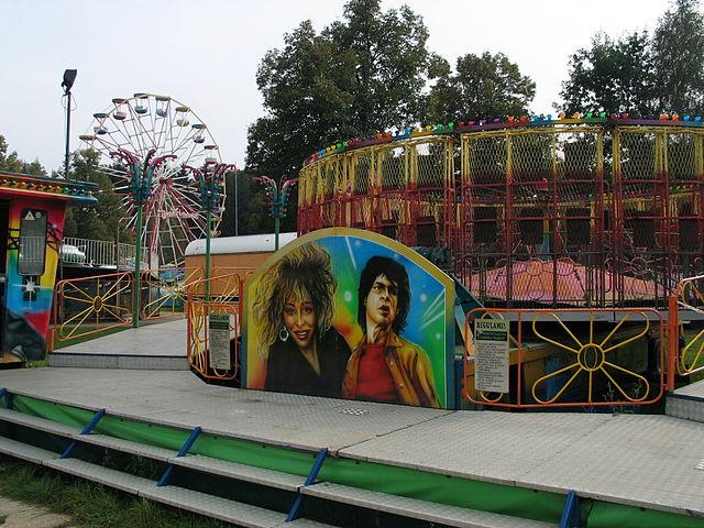 Lunapark - Amusement Park in Lodz