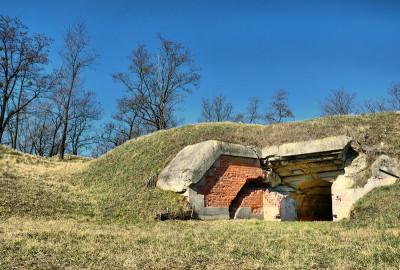 Fort VII 1/2 Tarnawce Twierdza Przemyśl
