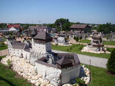 Park miniatur w Ogrodzieńcu
