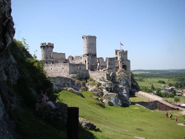 Zamek Ogrodzieniecki w Podzamczu