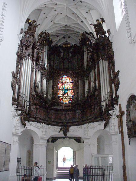 Organy oliwskie w katedrze w Gdańsku - Oliwie