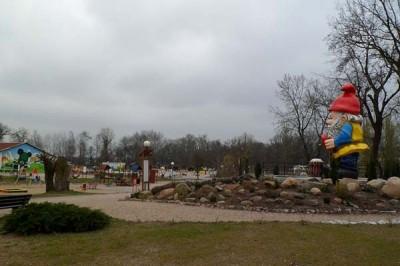 Park Krasnala i sala zabaw Solusiowa Przystań