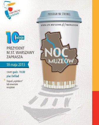 Noc Muzeów 2013 w Warszawie