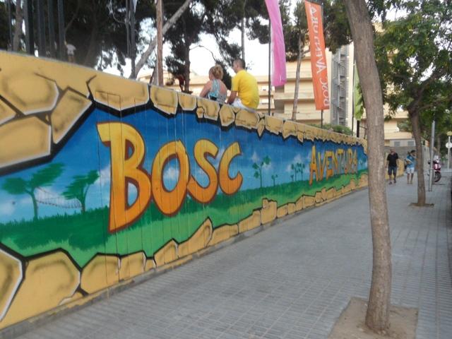 Park linowy Bosc Aventura