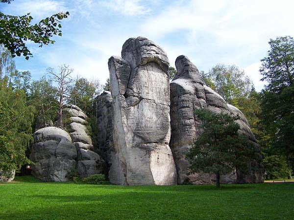 Adršpašské skalne miasto