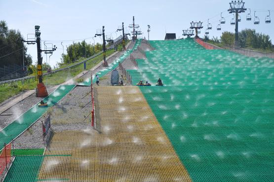 Całoroczny stok narciarski Szczęśliwice