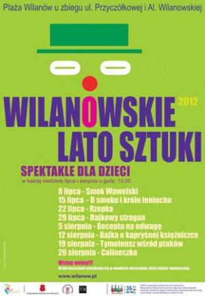 WARSZAWA: Cykl letnich spektakli dla dzieci w Wilanowie