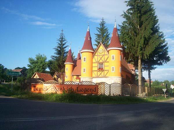 Zamek śląskich legend