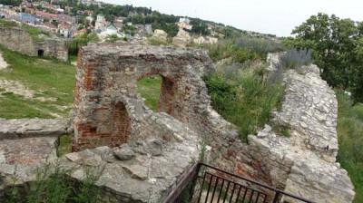 Ruiny zamku w Iłży