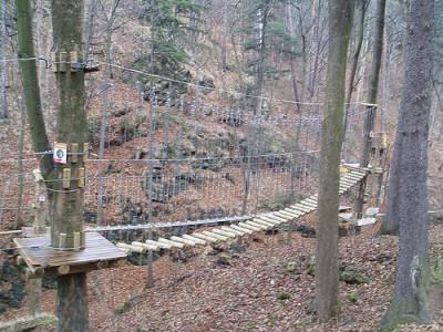 Leśny Park Przygody Skalisko – Park linowy